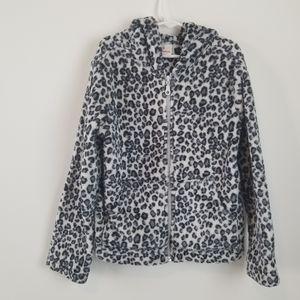 Hanna Anderson Black/White Leopard Jacket